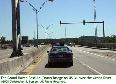US-31 Grand Haven Bascule (Draw) Bridge