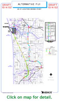 Michigan Highways In Depth US Freeway In Ottawa County - Ottawa on the us map