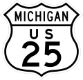 US-25 Route Marker