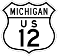 US-12 Route Marker
