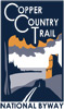 Copper Country Trail Scenic Heritage Route logo